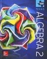 McGraw Hill Glencoe Algebra 2 TEKS (Texas), 2016
